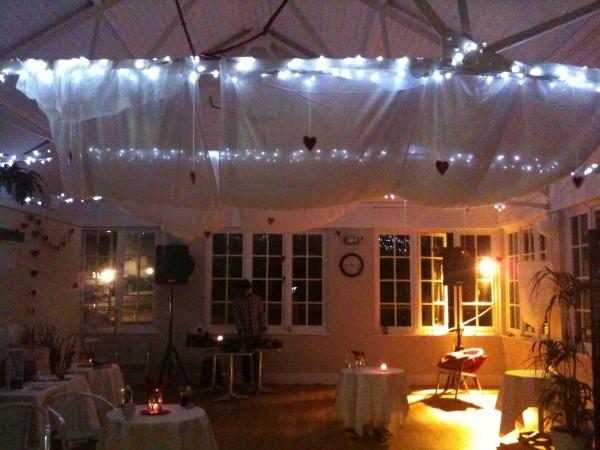 lights down - evening interior at eat @ The Park Café