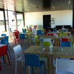 inside the Stade Café